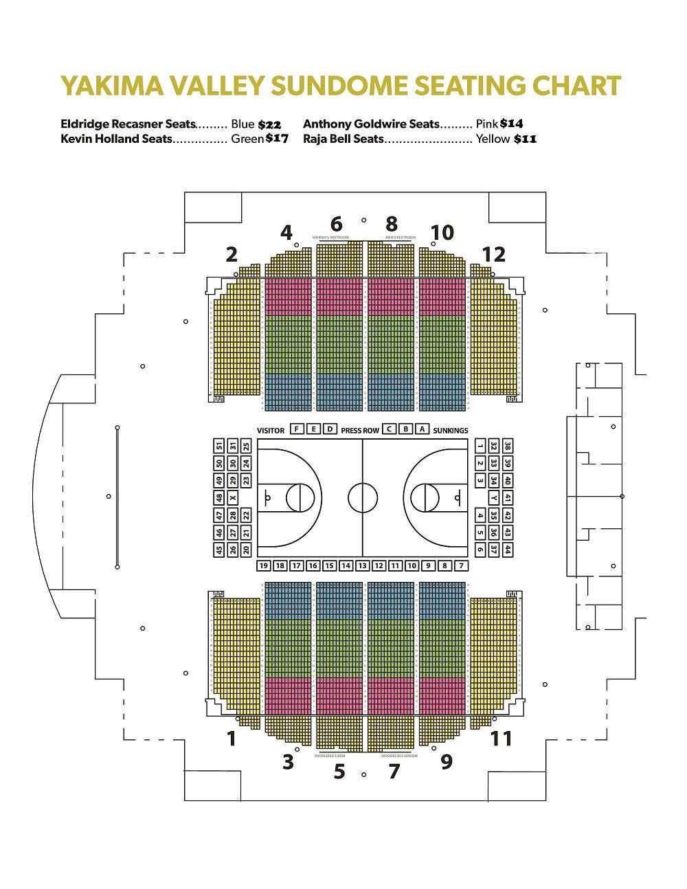 Yakima Sunkings Basketball Ticketswest