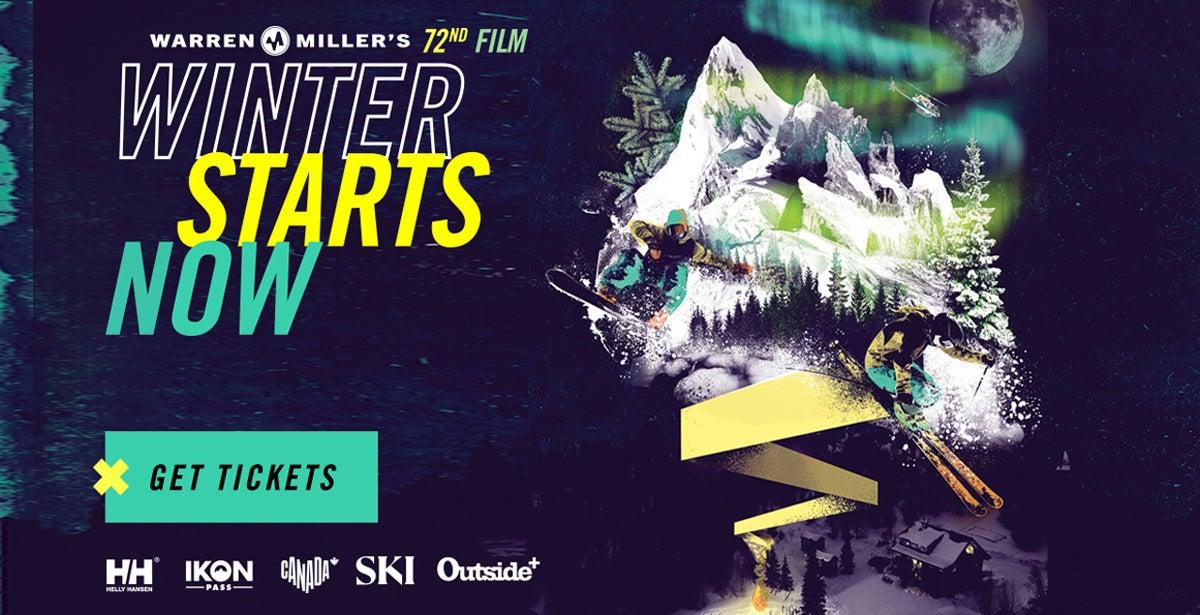 """Warren Miller's """"Winter Starts Now"""""""