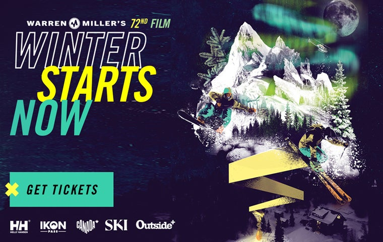 "More Info for Warren Miller's ""Winter Starts Now"""