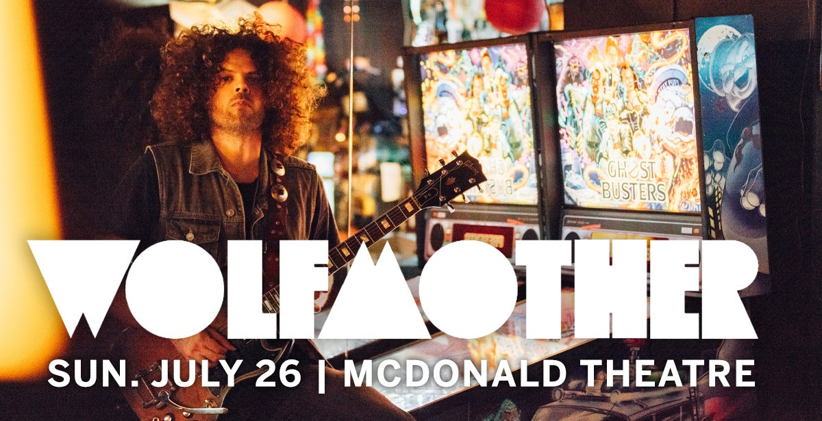 *CANCELLED* Wolfmother
