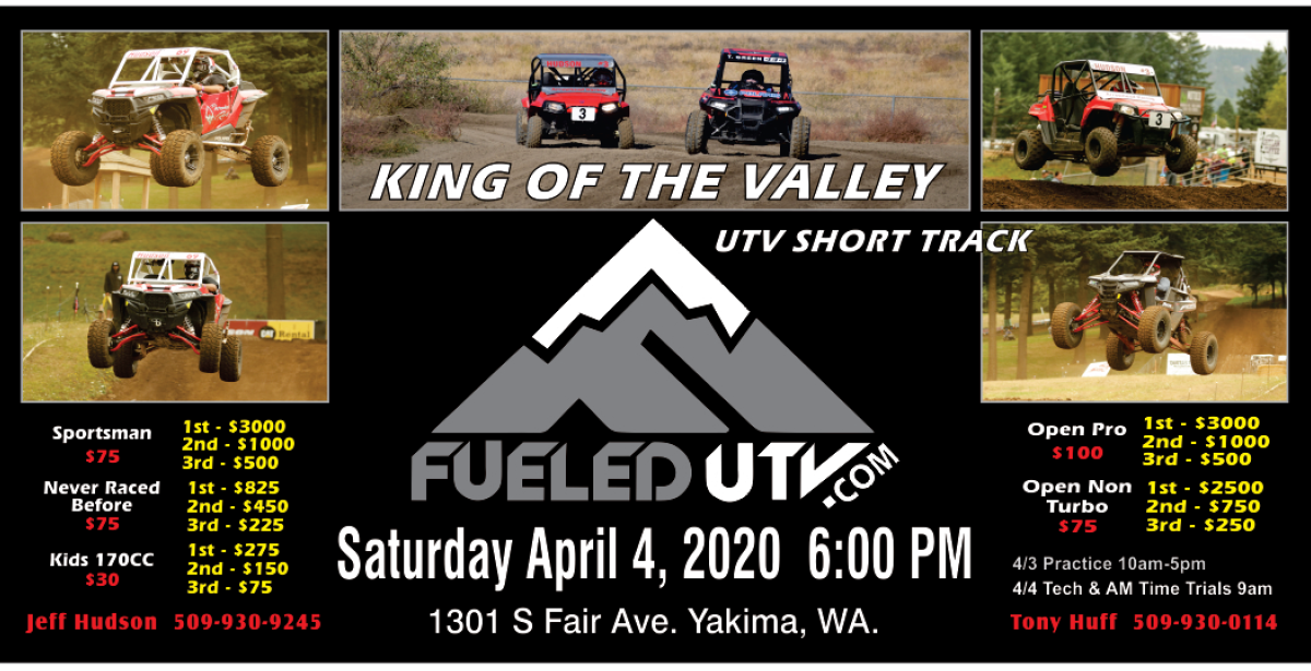 *Cancelled* King of The Valley UTV Mx Race