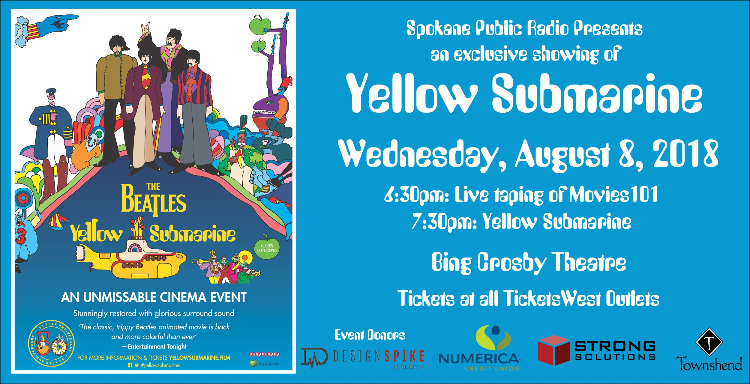 SPR presents The Beatles Yellow Submarine